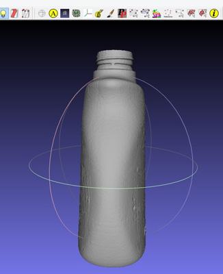 Matter&formでボトルをスキャン